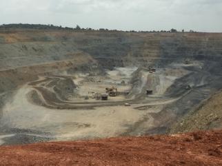Houndé Gold Mine. Photo source: Author, 2019
